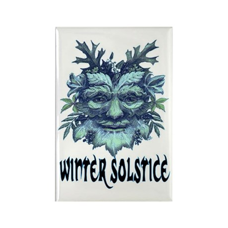 WINTER SOLSTICE Rectangle Magnet