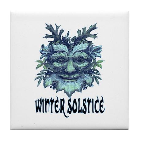 WINTER SOLSTICE Tile Coaster