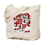 Carlier Family Crest Tote Bag