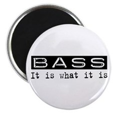 "Bass Is 2.25"" Magnet (100 pack)"