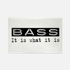 Bass Is Rectangle Magnet