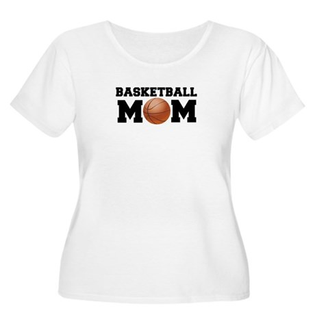 Basketball Mom Women's Plus Size Scoop Neck T-Shir