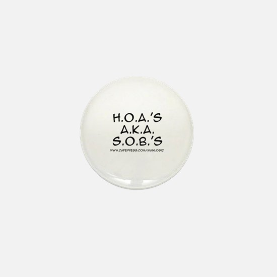 HOA AKA SOBS Mini Button