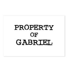 Property of Gabriel Postcards (Package of 8)
