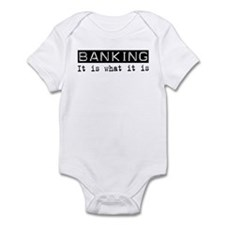 Banking Is Infant Bodysuit