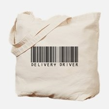Delivery Driver Barcode Tote Bag
