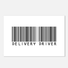 Delivery Driver Barcode Postcards (Package of 8)