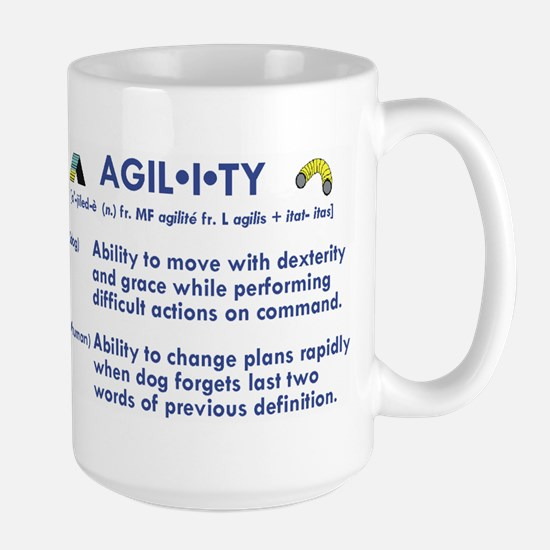 The Definition of Agility Large Mug