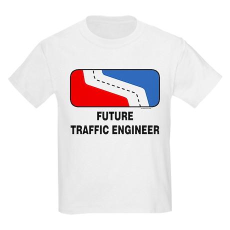 Traffic Engineer Kids Light T-Shirt