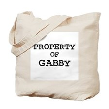 Property of Gabby Tote Bag