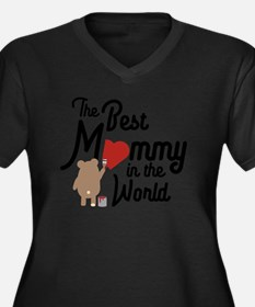 The best Mommy in the World Cm0v Plus Size T-Shirt