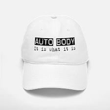 Auto Body Is Baseball Baseball Cap