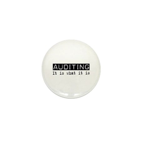 Auditing Is Mini Button (100 pack)