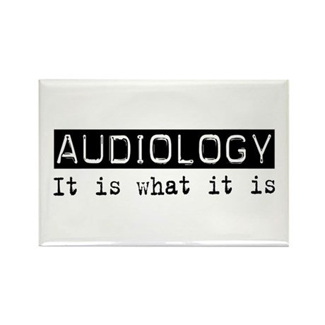 Audiology Is Rectangle Magnet