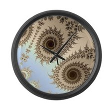 Fractal Large Wall Clock