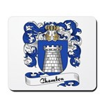 Chambon Family Crest Mousepad