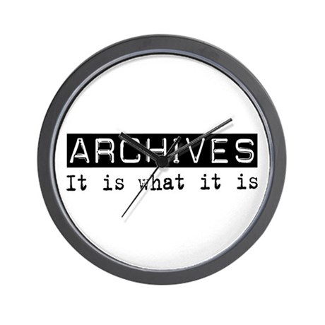 Archives Is Wall Clock
