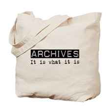 Archives Is Tote Bag