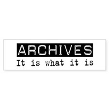 Archives Is Bumper Car Sticker