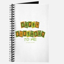 Happy Birthday To Me (g) Journal