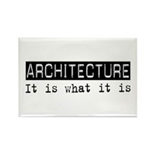 Architecture Is Rectangle Magnet