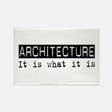 Architecture Is Rectangle Magnet (10 pack)