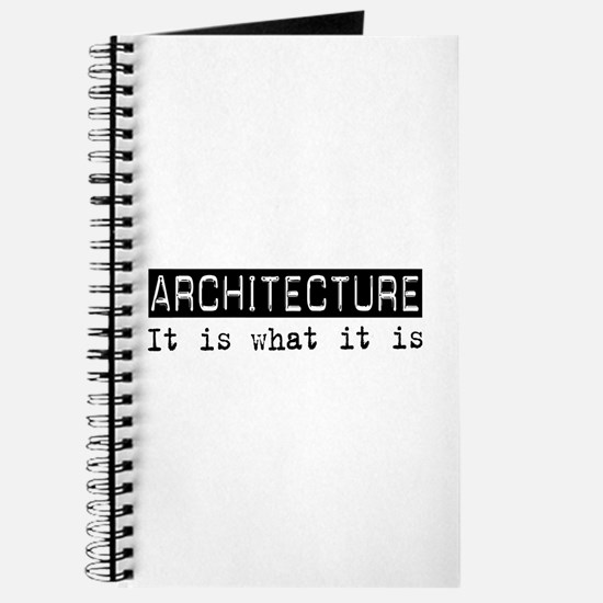 Architecture Is Journal