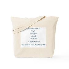 Homebirth Advocacy Tote Bag