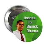 Hobbits for Barack Obama button