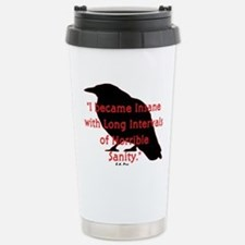 POE QUOTE Stainless Steel Travel Mug