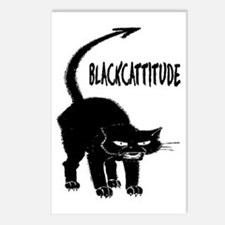 BLACKCATTITUDE #2 Postcards (Package of 8)