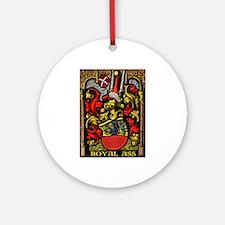 ROYAL ASS! Ornament (Round)