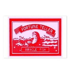 FORTUNE TELLER MIRACLE FISH Postcards (Package of