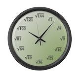 Maths clocks Wall Clocks