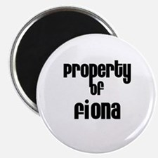 Property of Fiona Magnet
