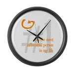 I'm Influential Large Wall Clock