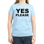 Say Please With This Women's Light T-Shirt
