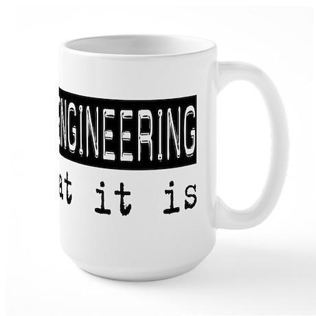 Aerospace Engineering Is Large Mug
