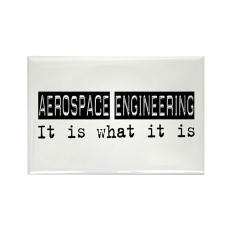 Aerospace Engineering Is Rectangle Magnet (100 pac