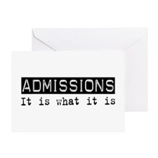 Admissions Is Greeting Card