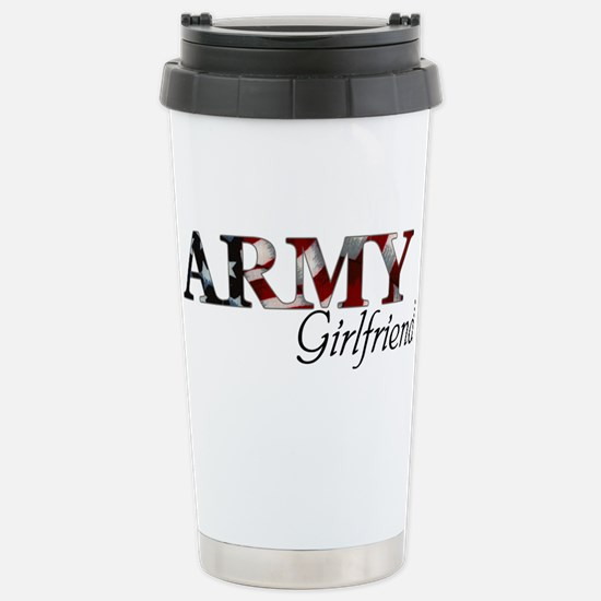 Army Girlfriend (Flag) Stainless Steel Travel Mug