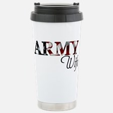 Funny American wife Travel Mug