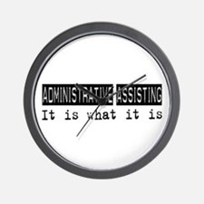 Administrative Assisting Is Wall Clock