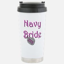 Navy Bride (Tags) 2009 Stainless Steel Travel Mug