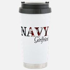 NAVY Girlfriend (Flag) Stainless Steel Travel Mug