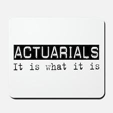 Actuarials Is Mousepad