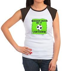 Soccer Moms Women's Cap Sleeve T-Shirt