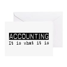 Accounting Is Greeting Card