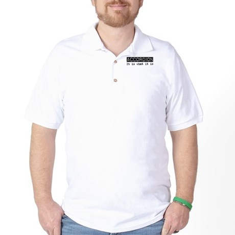Accordion Is Golf Shirt