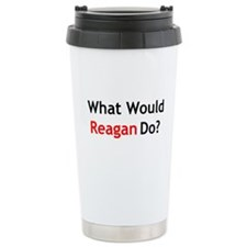 What Would Reagan Do? Thermos Mug
